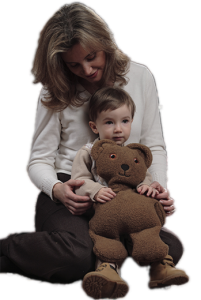 Weighted Washable Teddy Bear by Weighted Comfort Solutions