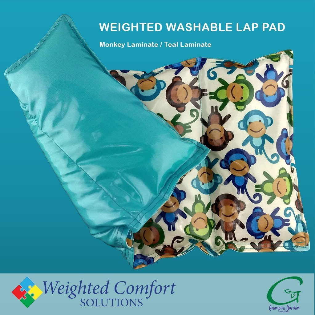 Weighted Washable Laminated Lap Pads