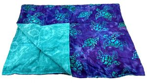 Weighted Blanket - Batik Turtle