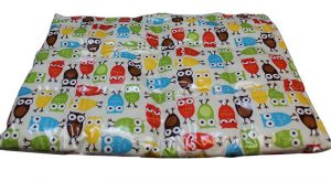 Cotton Laminate Weighted Blanket - Owls