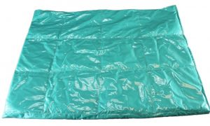 Cotton Laminate Weighted Blanket - Teal